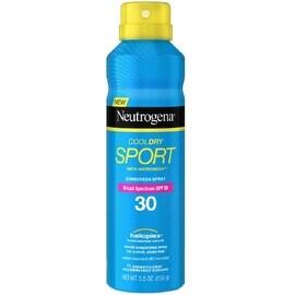 Neutrogena CoolDry Sport Sunscreen Spray, SPF 30 5.5 oz
