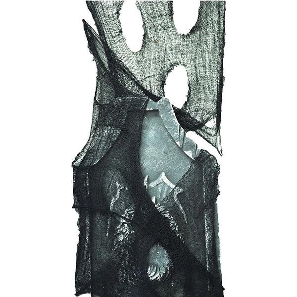 Freaky Fabric Halloween Décor, Loose Weave, Black