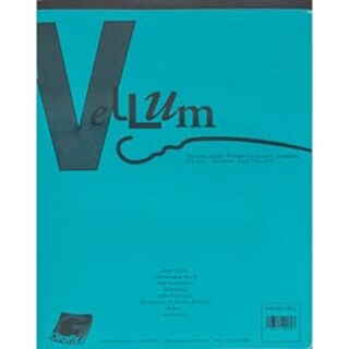 "Vellum Assortment 8.5""X11"" 40/Pkg-"