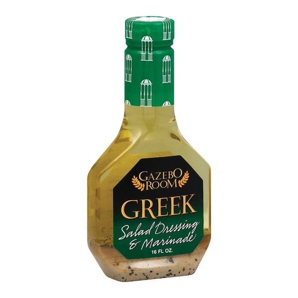 Gazebo Room Dressing & Marinade - Greek - Case of 12 - 16 fl oz