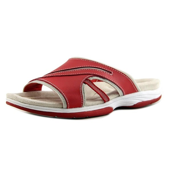 Easy Street Fellow Red Sandals