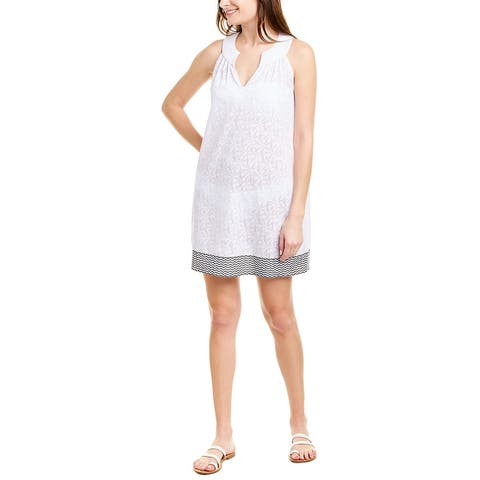 Vineyard Vines All Over Palm Burnout Cover-Up
