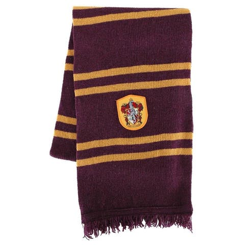 Harry Potter Gryffindor House Scarf Costume Accessory - Purple