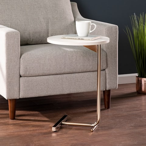 Harper Blvd Gayley Contemporary White Wood C-Table