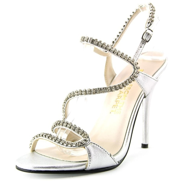 E! Live From The Red Carpet Wallis Women Silver Sandals