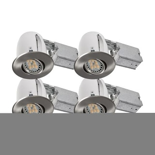 Bazz Lighting 310L7BX4 Set of (4) Dimmable LED Recessed Lighting Kit