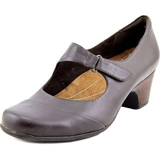 Clarks Artisan Sugar Palm Women W Round Toe Leather Mary Janes