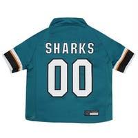 San Jose Sharks Pet Jersey - XS