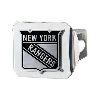 """NHL - New York Rangers Hitch Cover - 3.4"""" x 4"""""""