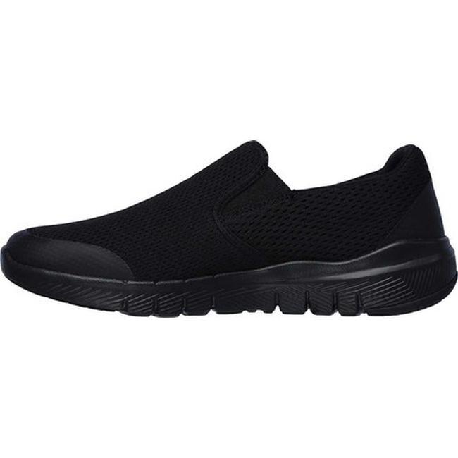 Skechers Men's Flex Advantage 3.0 Morwick Slip On Sneaker BlackBlack