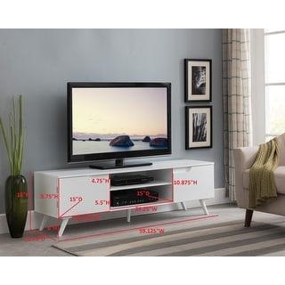 "Entertainment Center for TVs up to 60"""" (White) -  K&B, E1061"