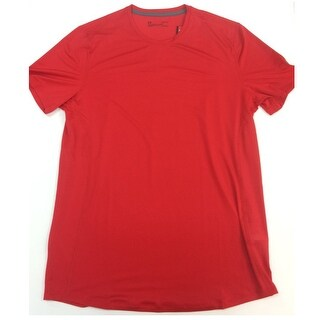 Under Armour Men's HeatGear ArmourVent Perforated Fitted T-Shirt, Red, Large