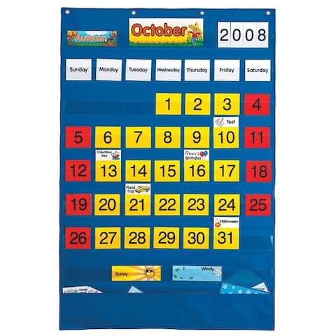 Lauri calendar pocket chart 746