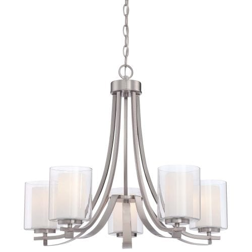 Minka Lavery 4105-84 5 Light Single Tier Chandeliers from the Parsons Studio Collection - Thumbnail 0