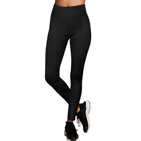 Maidenform Baselayer Thermal Legging - Color - Black - Size - M