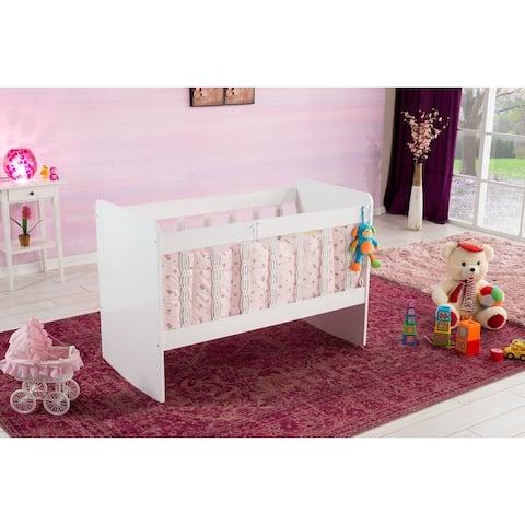 Modern Wood Base With Drawer Baby Crib