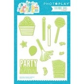 Cake Elements - Photo Play Paper Etched Dies