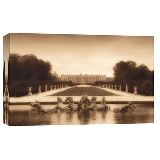 """PTM Images 9-101793  PTM Canvas Collection 8"""" x 10"""" - """"Fountain of Apollo"""" Giclee Buildings and Landmarks Art Print on Canvas"""