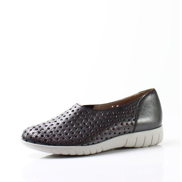 Munro NEW Black Women's Shoes Size 5.5W Skipper Metallic Sneaker