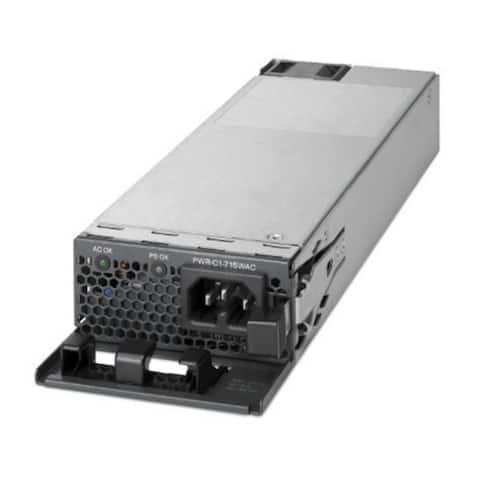 cisco PWR-C1-715WAC Cisco 715W AC Config 1 Spare PS Switch (PWR-C1-715WAC=) - Black