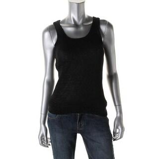 Lauren Ralph Lauren Womens Knit Sleeveless Sweater Vest - XL