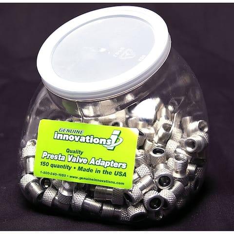 Presta valve adapter bulk innovations alloy (bot/150) g3612