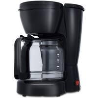Gymax 10-Cup Coffee Maker Coffee Brewer Machine 900W w/ Glass Carafe Quick Brew Black