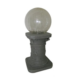 Solar Gazing Ball with Stand