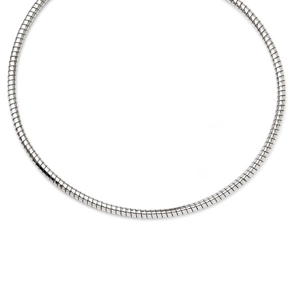Chisel Stainless Steel 5mm Tubago's Necklace (5 mm) - 20 in