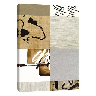 """PTM Images 9-108890  PTM Canvas Collection 10"""" x 8"""" - """"Collages C"""" Giclee Abstract Art Print on Canvas"""