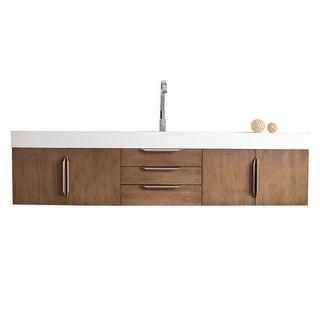"""Link to Mercer Island 72"""" Single Vanity, Latte Oak Similar Items in Bathroom Vanities"""