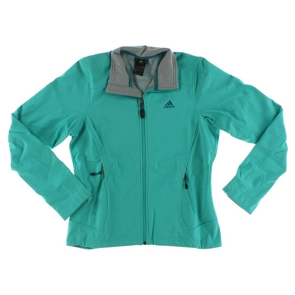 9ea345fabea5c Shop Adidas Womens adidas outdoor Women s Hiking Softshell Jacket Vivid  Mint - vivid mint - Free Shipping Today - Overstock.com - 22573832