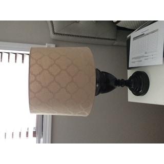 Tan Linen Hardback Empire Lamp Shade