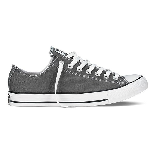 127d0a764be251 Shop Converse All Star Specialty OX Charcoal Womens Trainers - Free ...