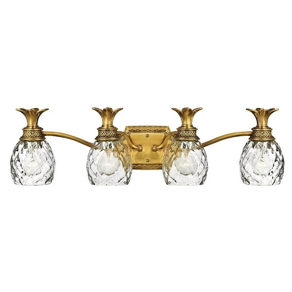 "Hinkley Lighting H5314 4-Light 29"" Width Bathroom Vanity Light from the Plantation Collection - n/a"