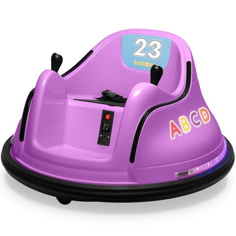 Kidzone Kids Electric Ride On Bumper Car 2 Speed, ASTM-Certified - standard