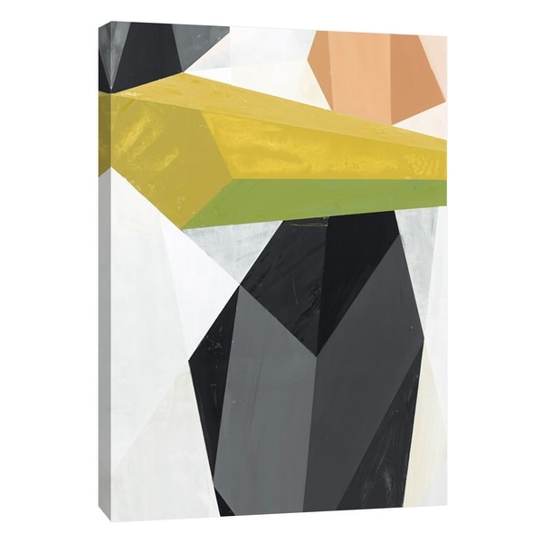"""PTM Images 9-105479 PTM Canvas Collection 10"""" x 8"""" - """"Glass Vase 4"""" Giclee Abstract Art Print on Canvas"""