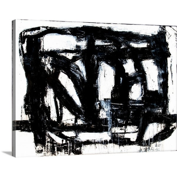 """""""Life As A Highway"""" Canvas Wall Art"""