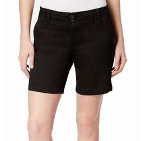 Kut from the Kloth Women's Shorts Black Size 12 Bermuda Walking
