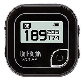 Golf buddy gb7voice2blksil golfbuddy voice 2 golf gps/rangefinder black/silver