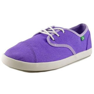 Sanuk Lil Mollie Youth Round Toe Canvas Sneakers