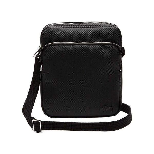 edca1aff Shop Lacoste Men's Classic Petit Pique Double Zip Bag - One size ...