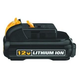 12V 1.5Ah Batteries for Dewalt DCB120 DCB121 DCD710 DCF815 DCT414S1-2YR Warranty