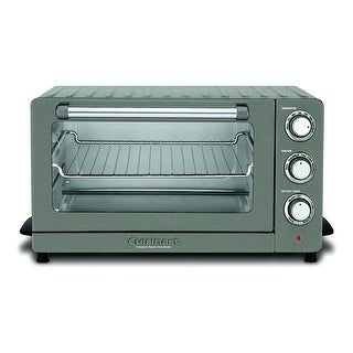 Cuisinart TOB-60N1BKS2 Convection Toaster Oven, Black Stainless