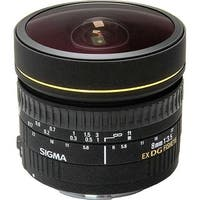 Sigma 8mm f/3.5 EX DG Circular Fisheye Lens for Nikon F (Open Box)