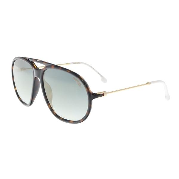73c63bd9add3 Shop Carrera CARRERA 153/S 086 Dark Havana Aviator Sunglasses - 60 ...