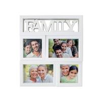 Family Rectangular Photo Collage Frame - Pack of 4