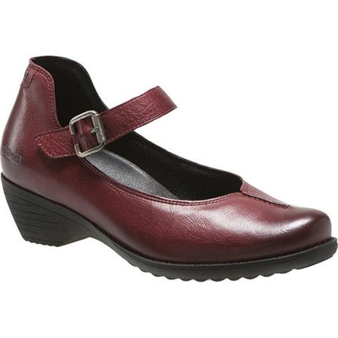 mobils by Mephisto Women's Yvette Mary Jane Oxblood Texas
