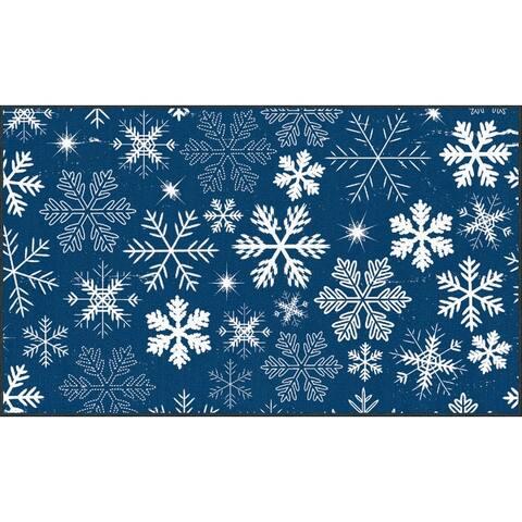 Mohawk Prismatic Snowflakes Area Rug