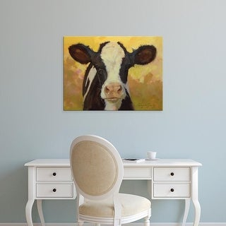 Easy Art Prints Carolyne Hawley's 'Farm Pals III' Premium Canvas Art